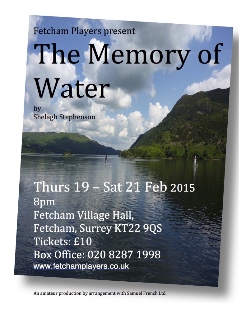 The-Memory-of-Water-flyer-leaflet